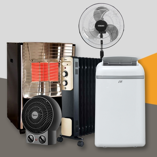 Picture for category Heaters and Fans